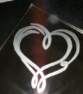 Coeur sur miroir 2